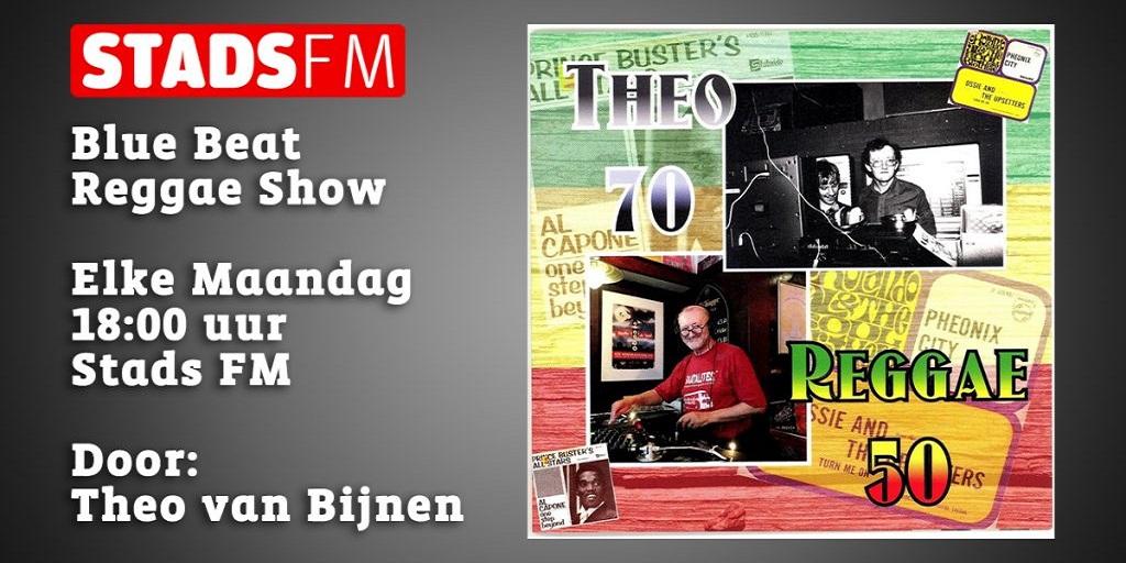 Theo van Bijnen - Blue Beat Reggae Show Stads FM