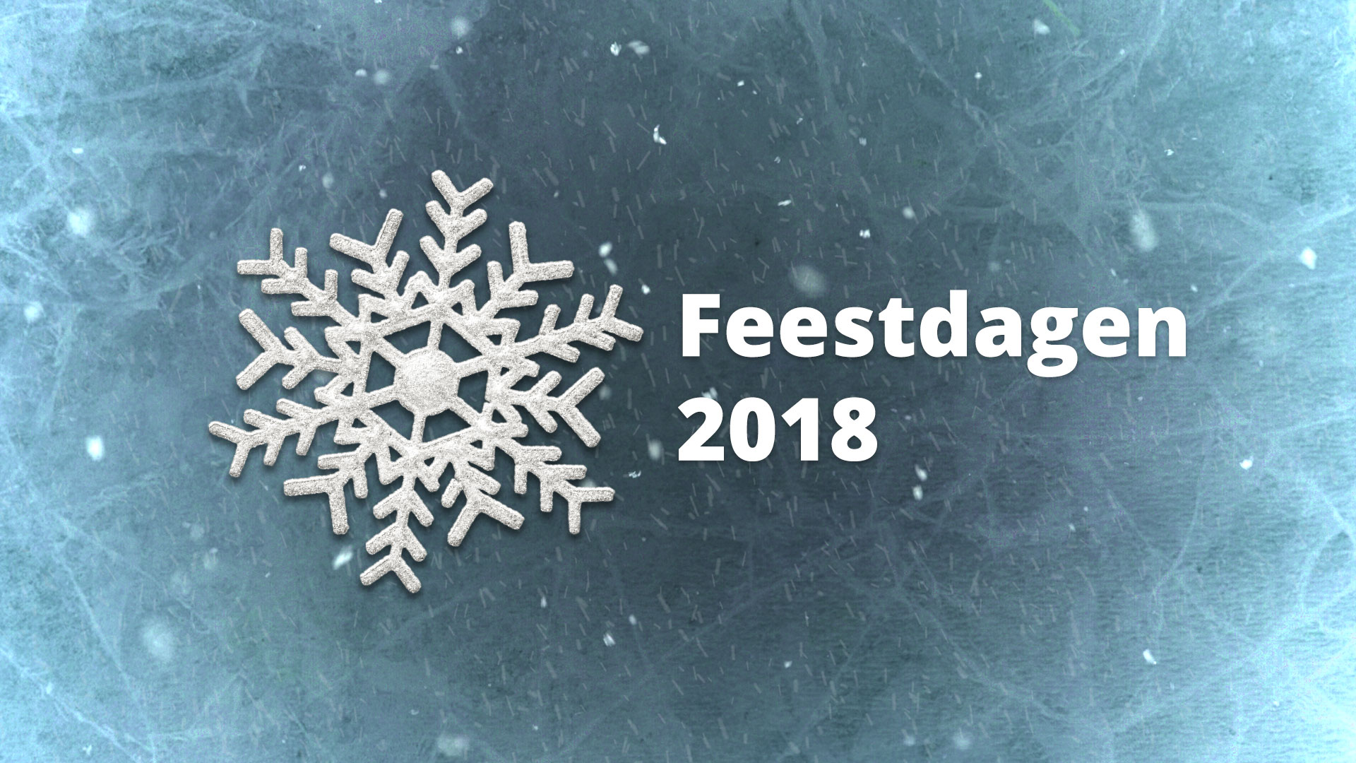 Winter Feestdagen 2018
