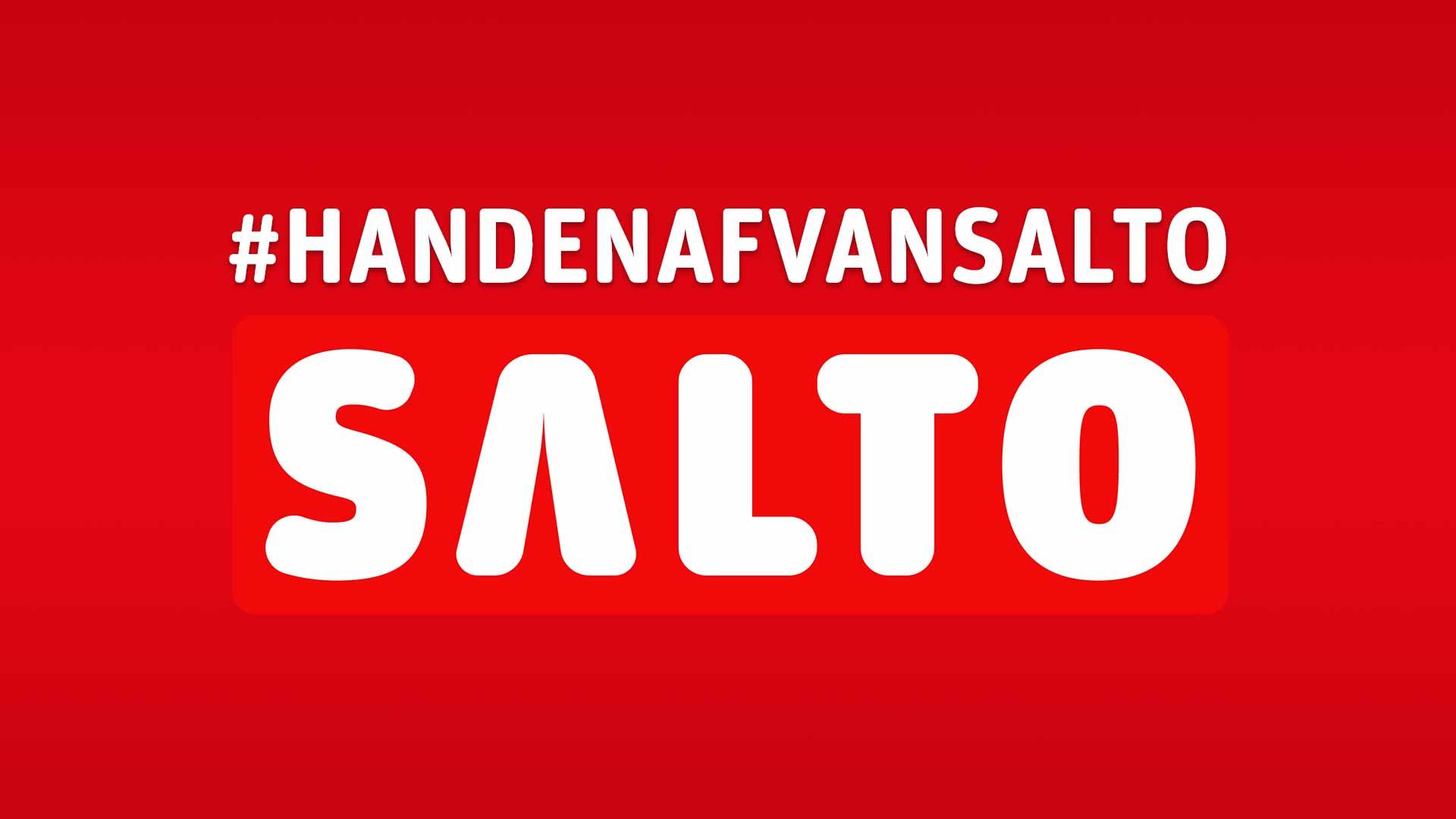 """Poster: """"#handenafvansalto"""""""